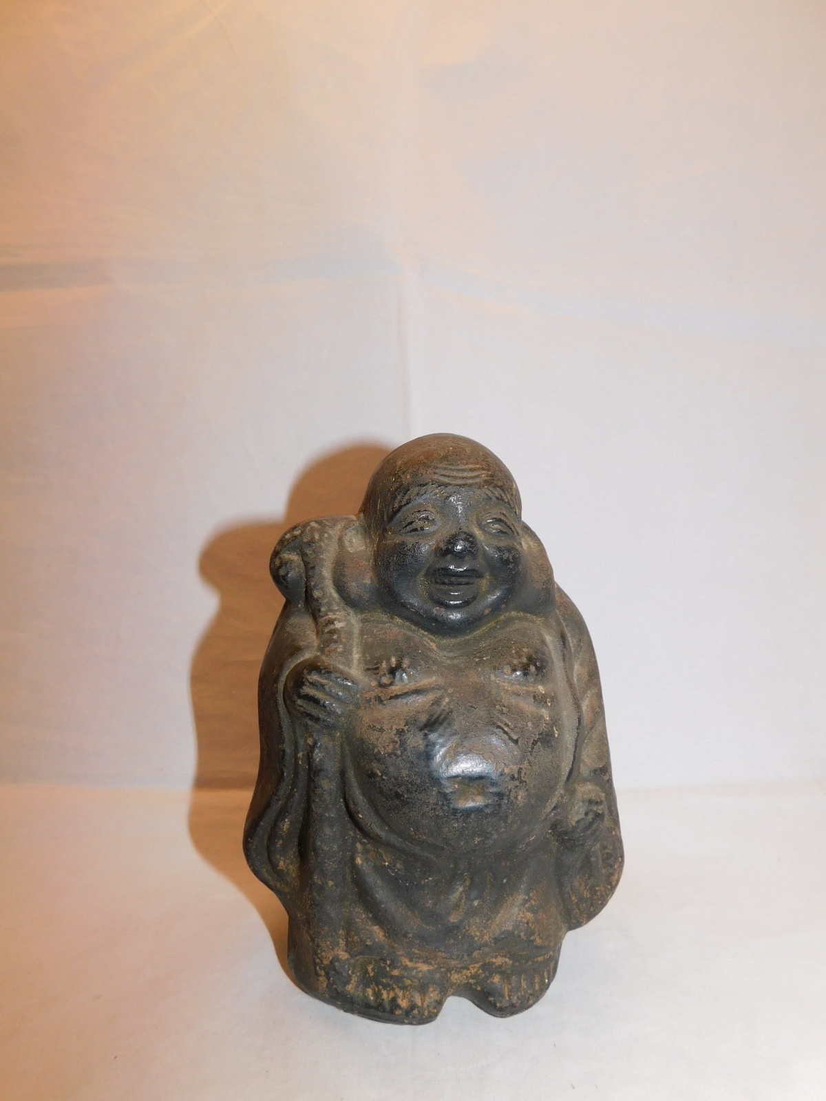 陶器布袋 pottery Hotei (No3)