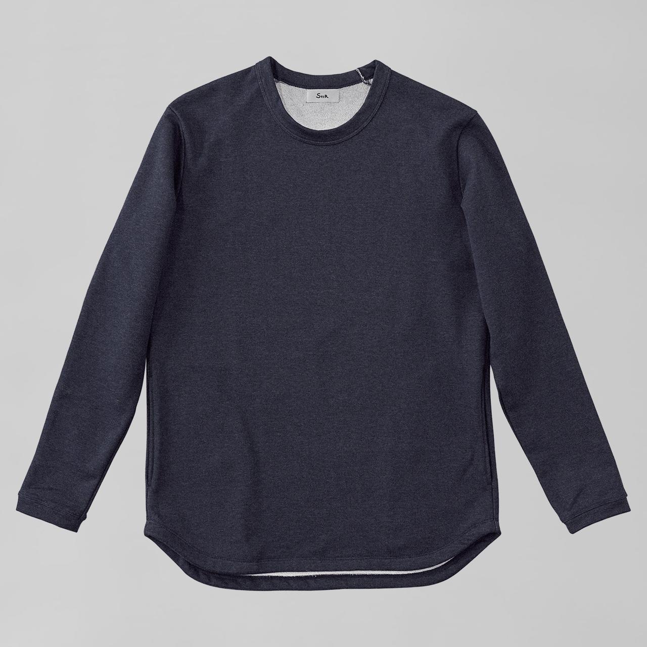アーバンドレススウェットシャツ / Urban Dress Sweatshirt #DENIM NAVY