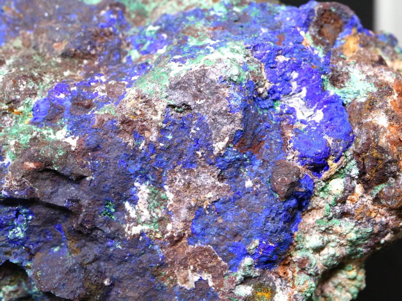 ユタ産 アズライト アジュライト 340,6g 原石 鉱物 標本 AZR005 パワーストーン 天然石