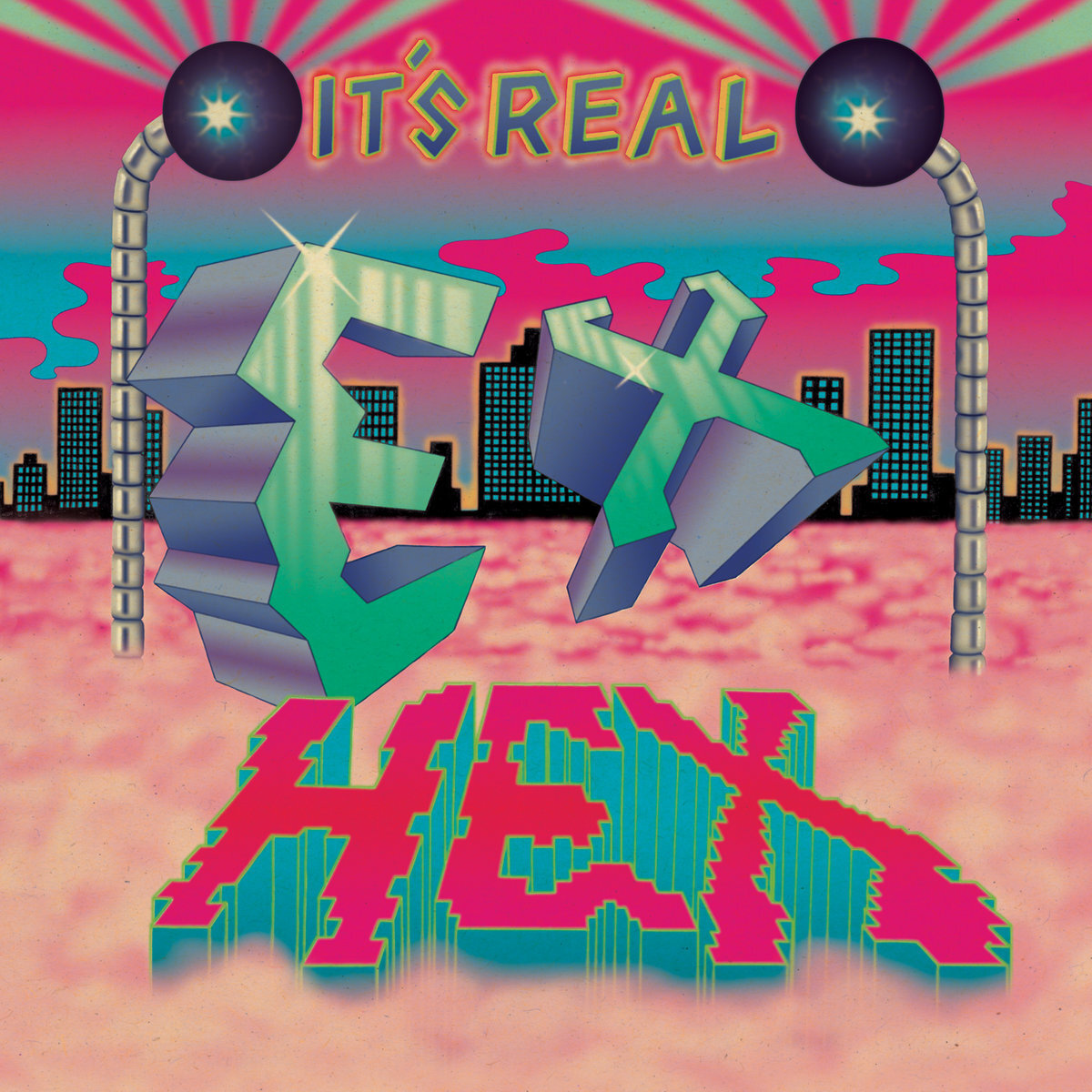 EX HEX - It's Real (LP)