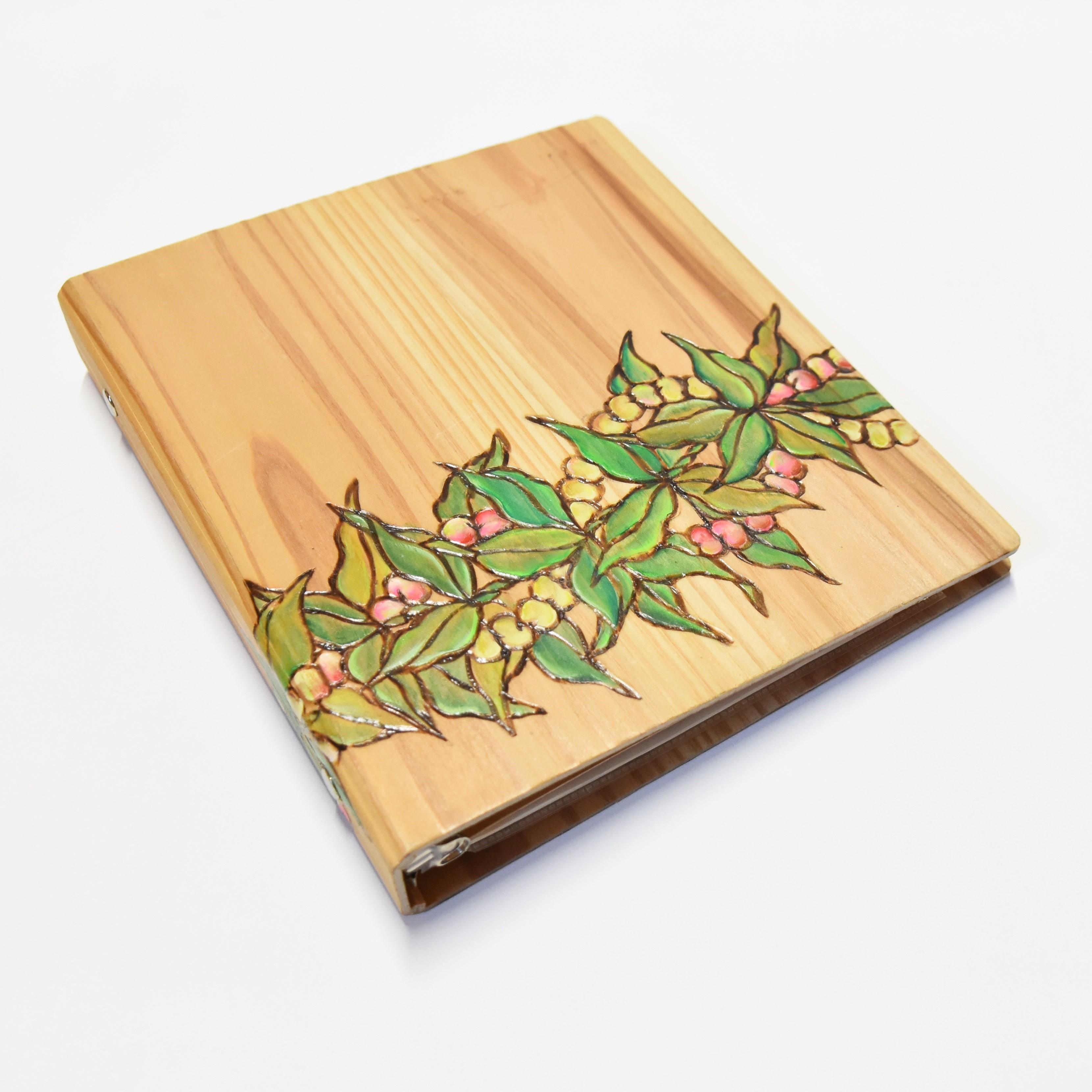 Wood File A5 【Mokihana&Tuberosa Lei】