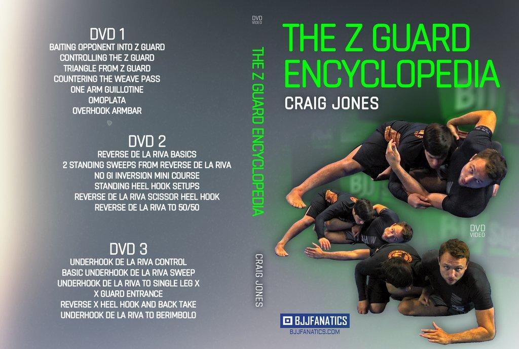 送料無料!!! クレイグ・ジョーンズ Zガード・エンサイクロペディア(百科事典)DVD3枚組