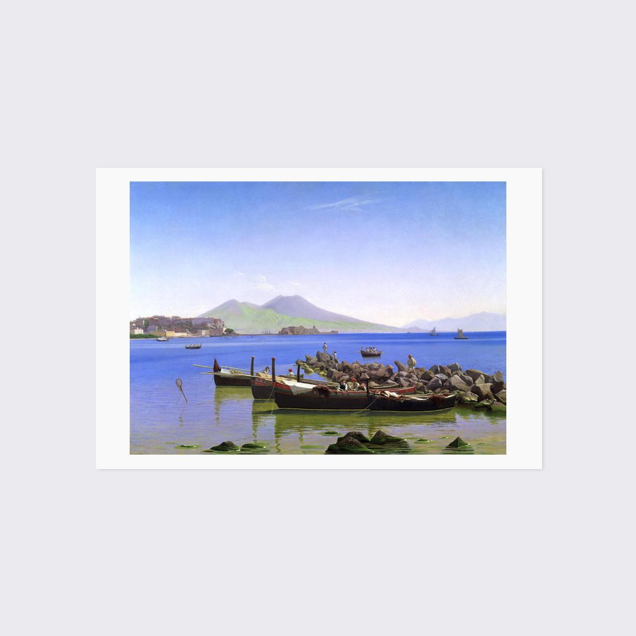 クプゲ ポストカード 「ナポリ湾」