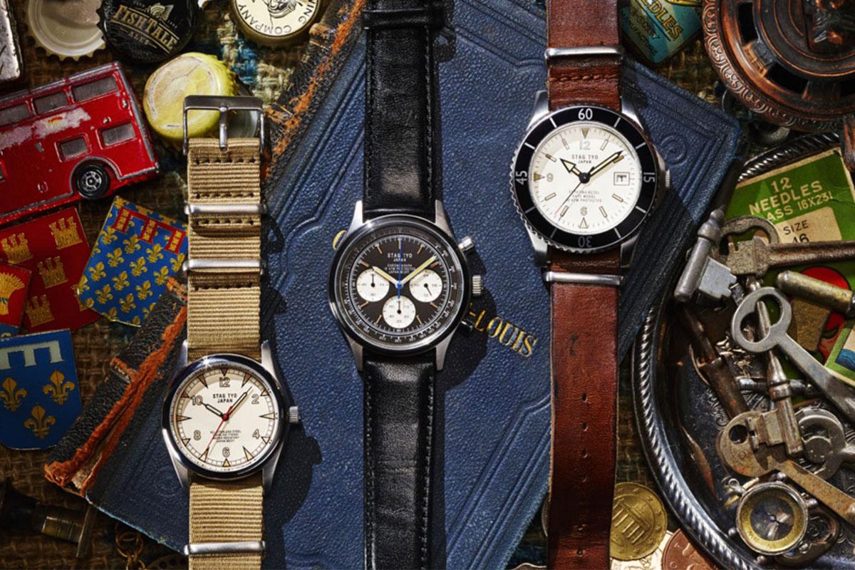 STAG / STG017LT2  /メンズ腕時計