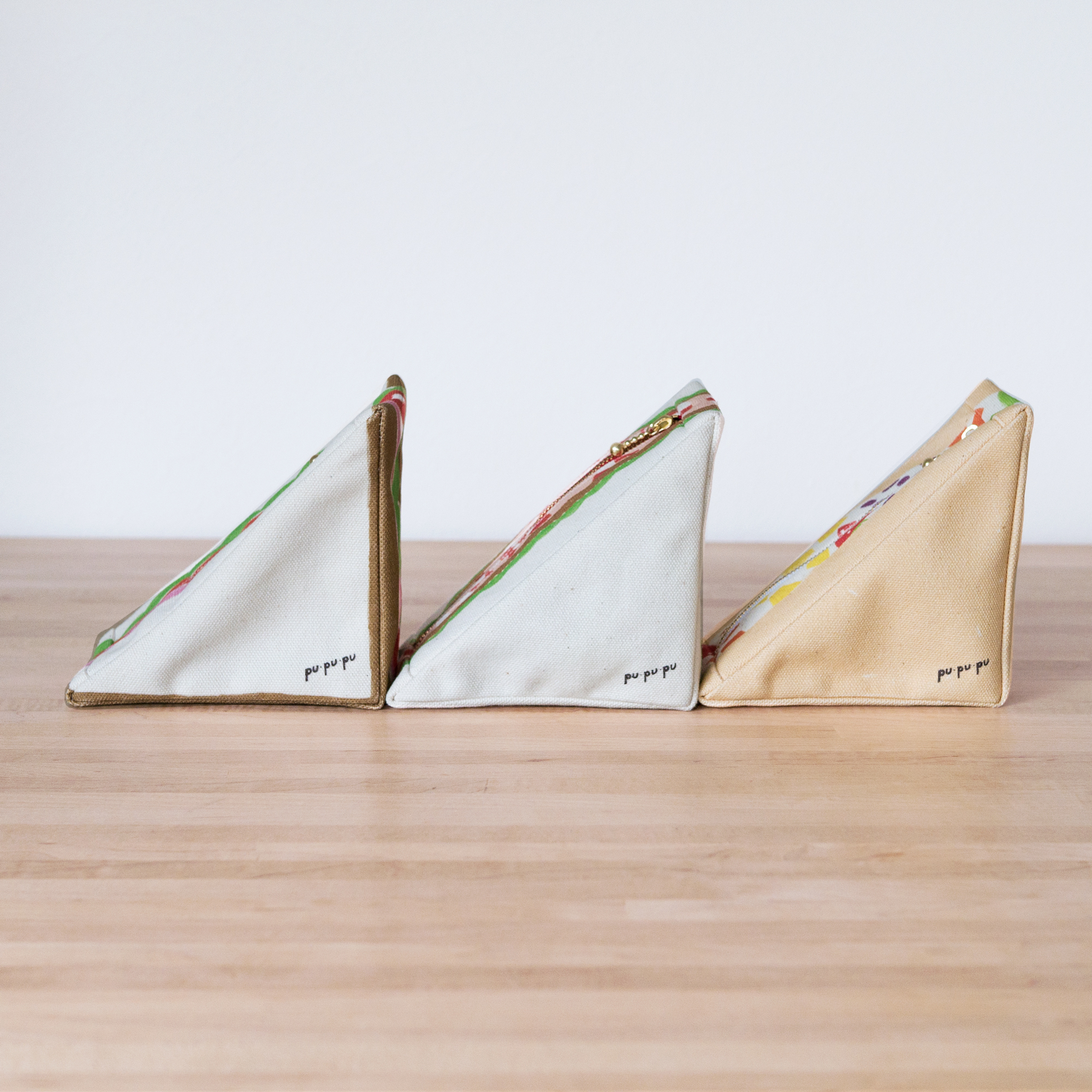 三角のサンドイッチポーチ 第2弾