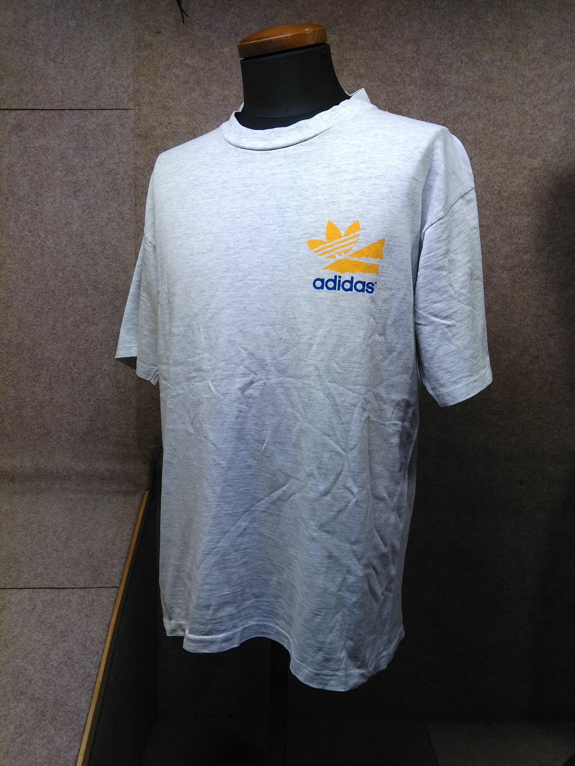 adidas アディダス Tシャツ USA 霜降り ヴィンテージ mh779e