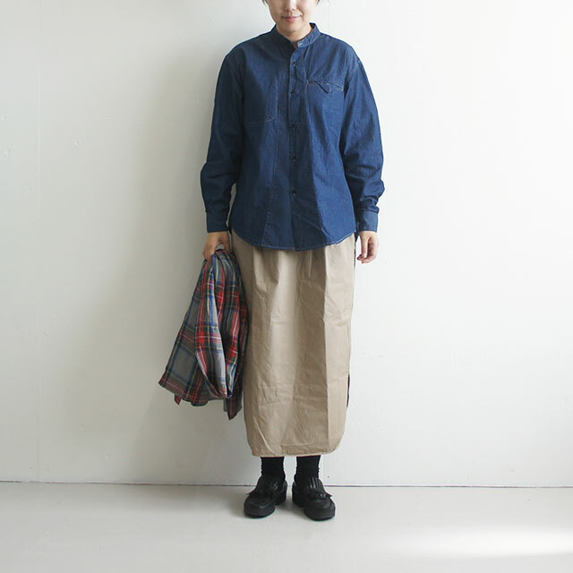 ORDINARY FITS オーディナリーフィッツ STAND WORKERS SHIRT 【返品交換不可】 (品番of-s018)