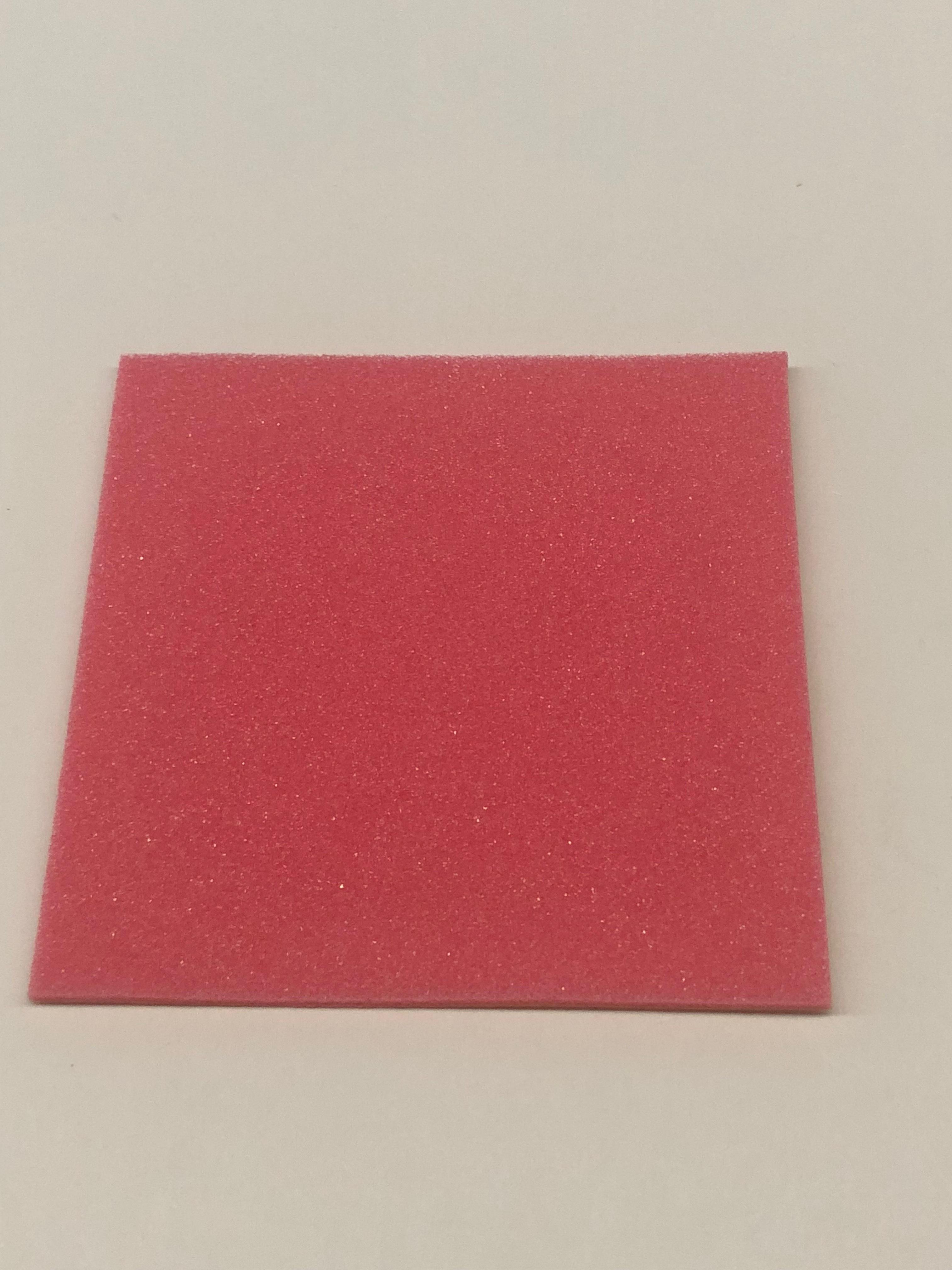 ブレーキスポンジ ピンク 1mm 1枚