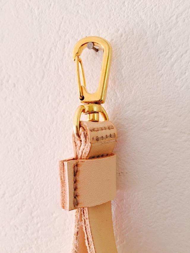 クラッチバッグ用 ゴールド とげ 鋲付きストラップ