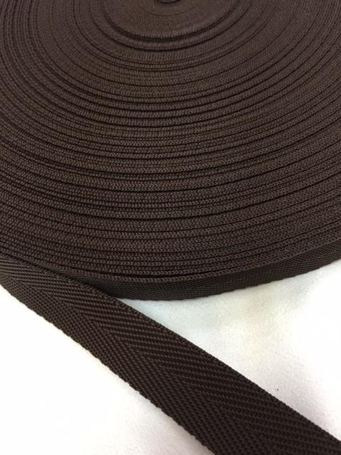 PPテープ 杉綾織(綾テープ) 25mm幅 黒/カラー  5mカット
