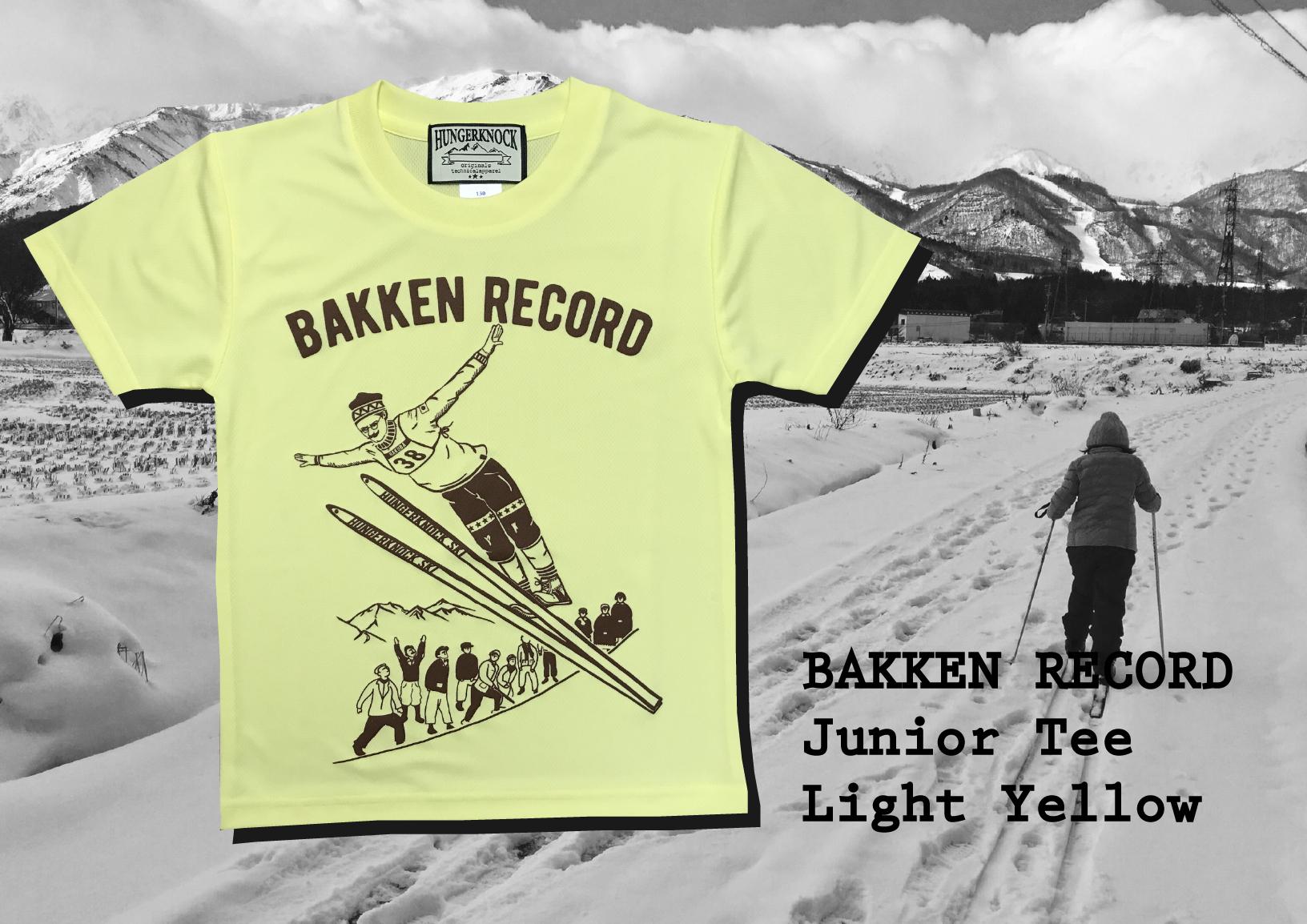 Kids Bakken Record DryTee / Yellow