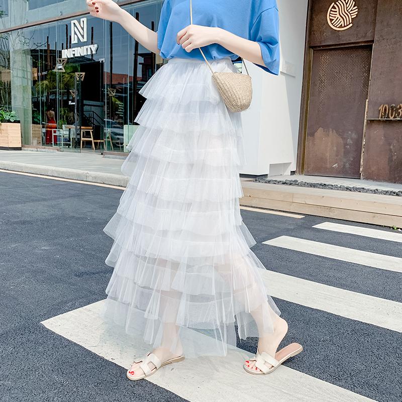 【bottoms】ファッションボールガウンスウィートスカート20483884