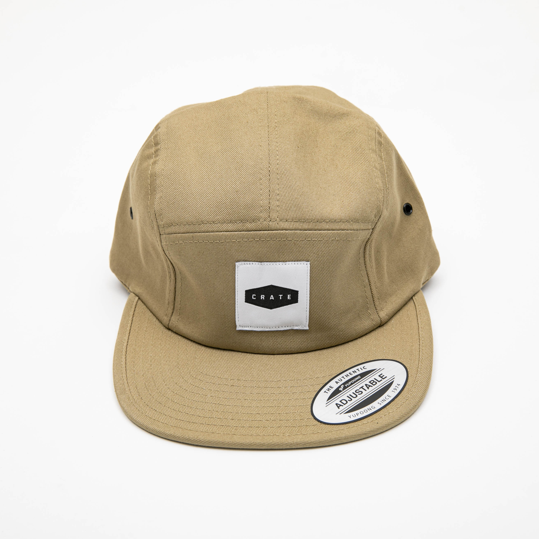 BOX PATCH JET CAP BEIGE