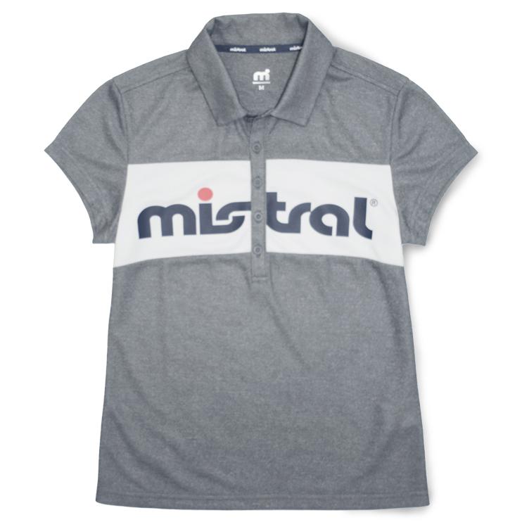 ミストラル ウィメンズ [ フィールドポロシャツ ] M.GRAY