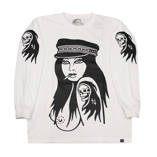 LURKING CLASS by SKETCHY TANK #BAD LONG SLEEVE TEE