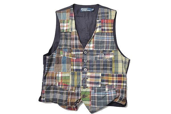 Ralph Lauren sizeM putchwork vest polo