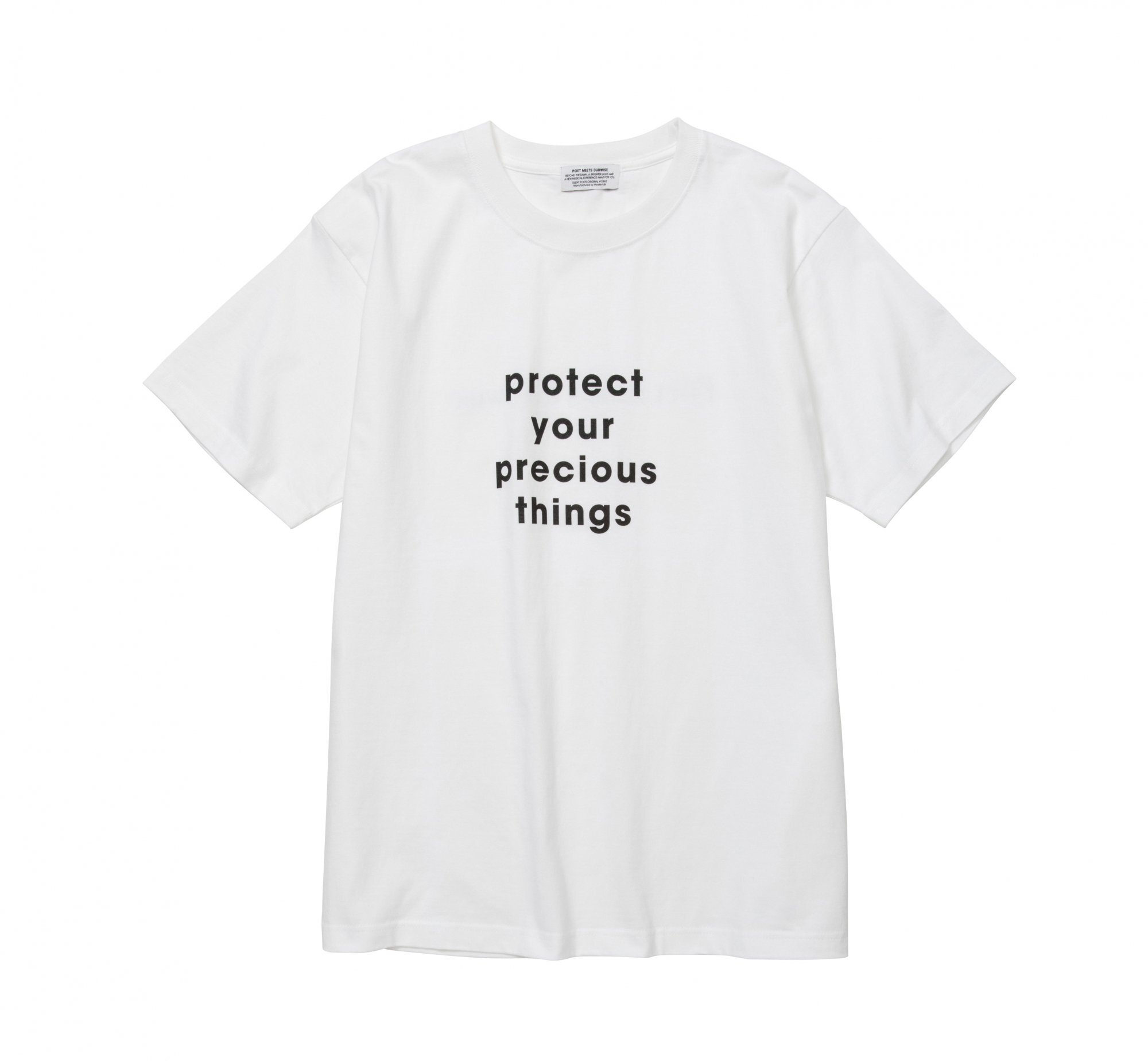POET MEETS DUBWISE / PROTECT TEE