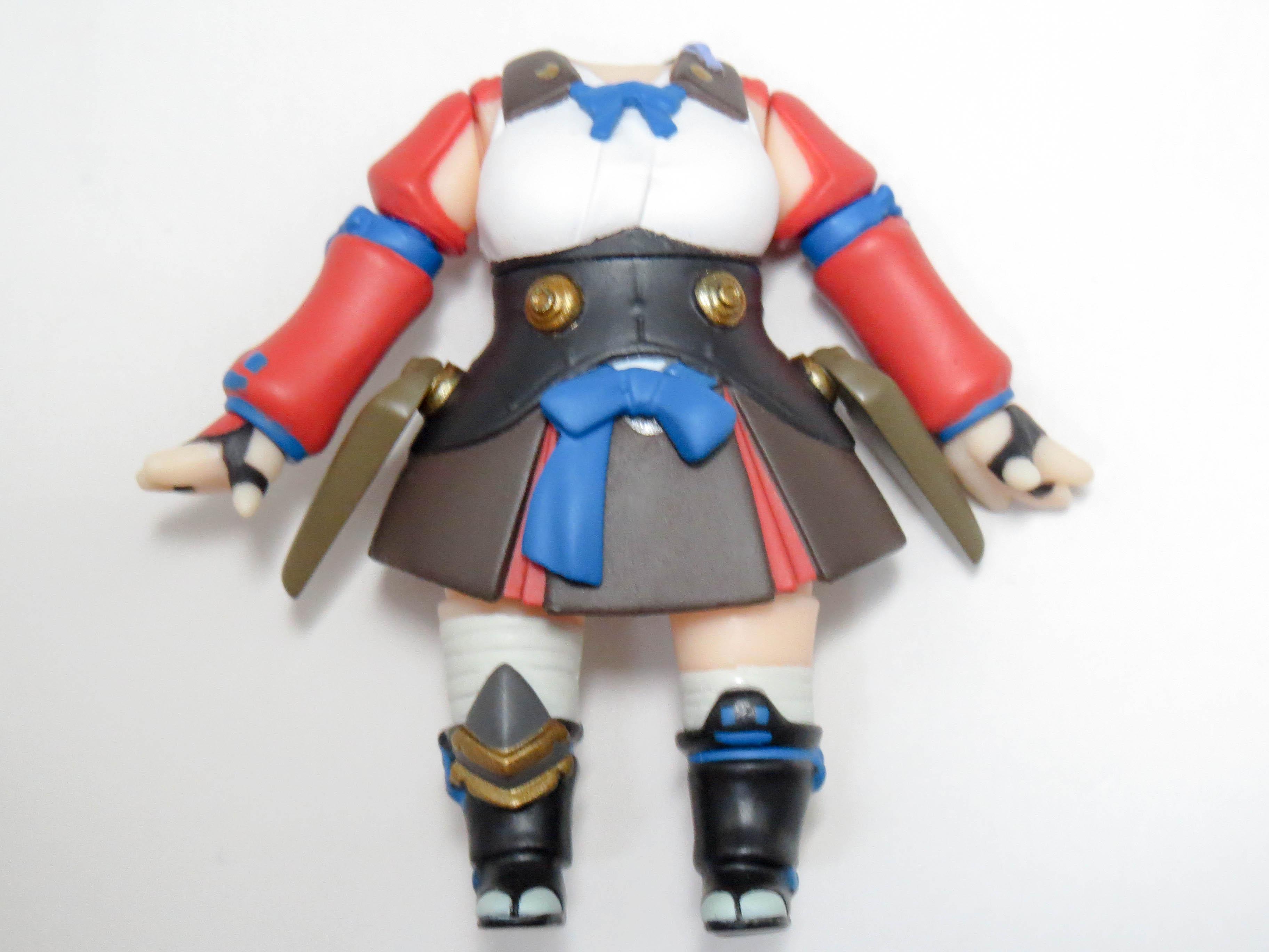 【660】 無名 体パーツ 戦闘服 ねんどろいど