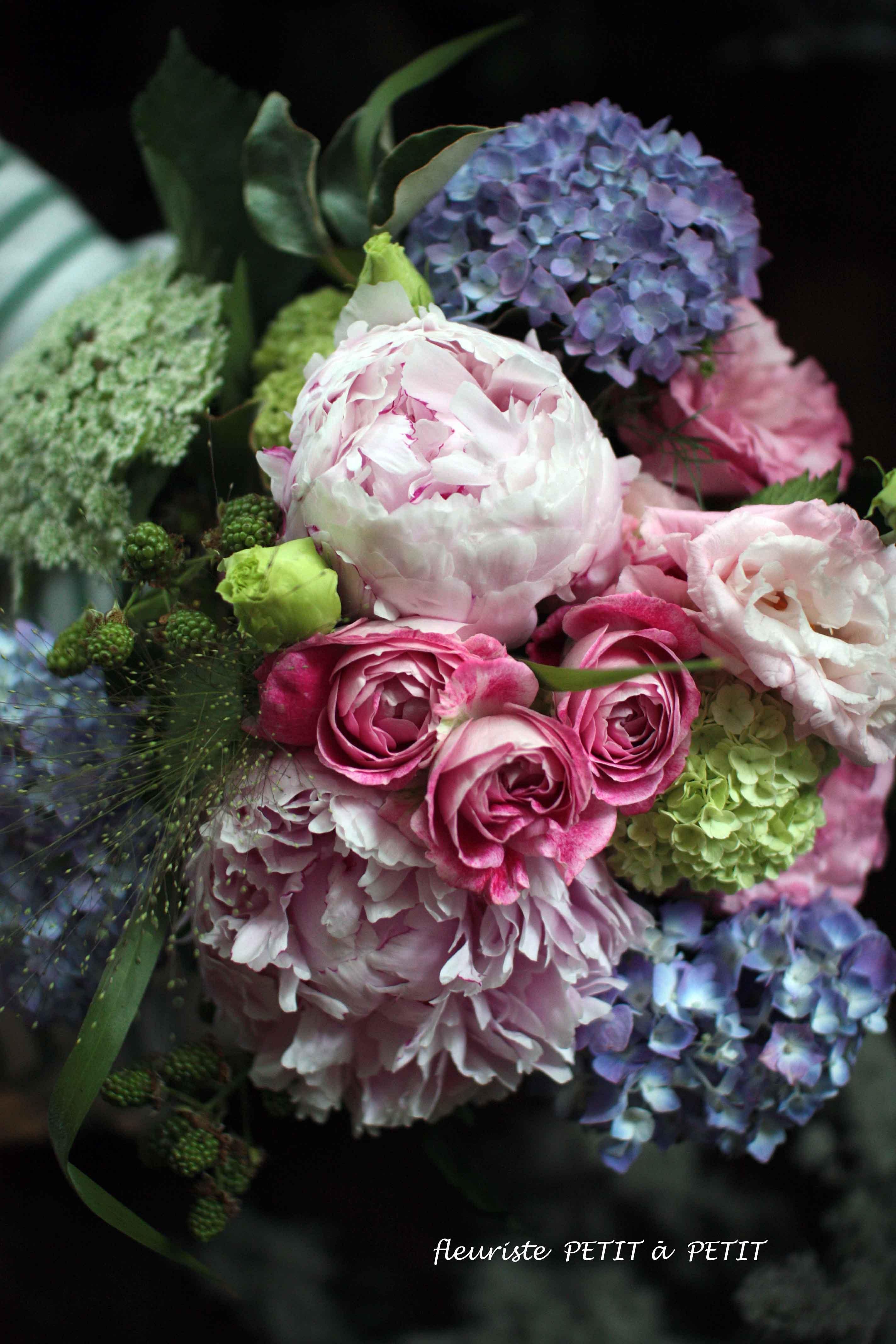 Lecon des fleurs de saison(季節の花レッスン定期便)※初回