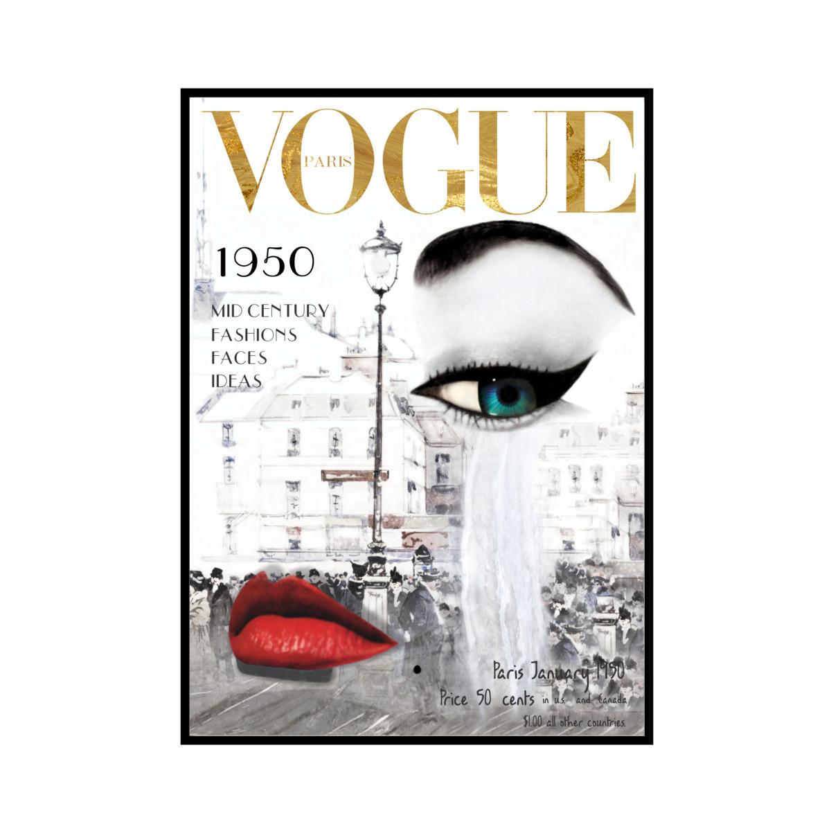 """VOGUE GM"" P1950 - VOGUEシリーズ [SD-000580] A4サイズ ポスター単品"
