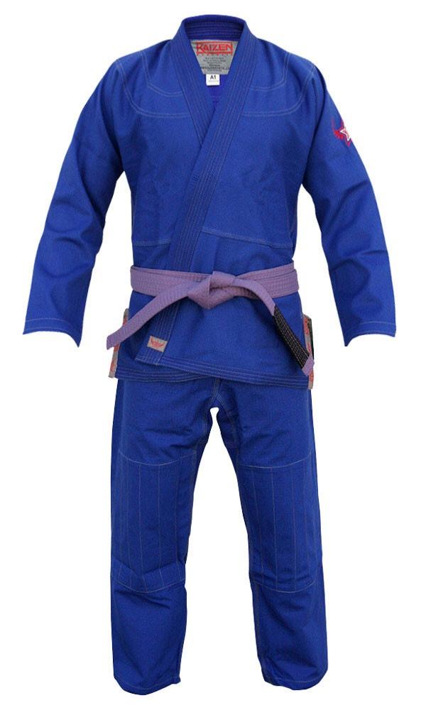 【送料無料】BJJ Kimono - Kaizen Athletic ブルー 【ブラジリアン柔術道衣・柔術道着】