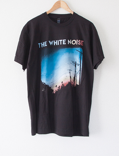 【THE WHITE NOISE】AMPM T-Shirts (Black)
