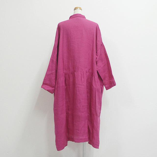 ICHIAntiquites イチアンティークス ITALY LINEN DRESS レディース ワンピース シャツワンピース リネン ロング 無地 ゆったり 通販 (品番500325)
