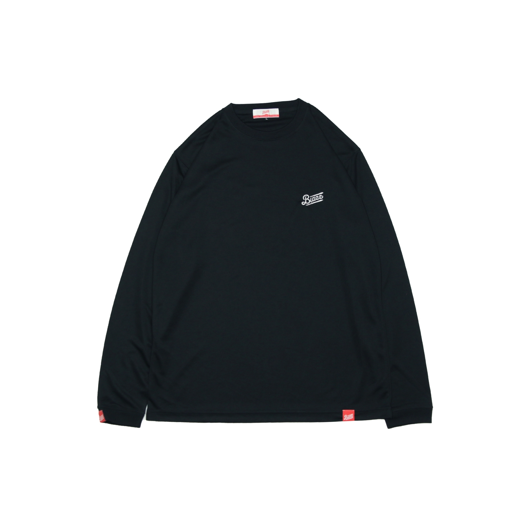blazz sports L/S DRY TEE 2020 [ BLACK / WHITE ]