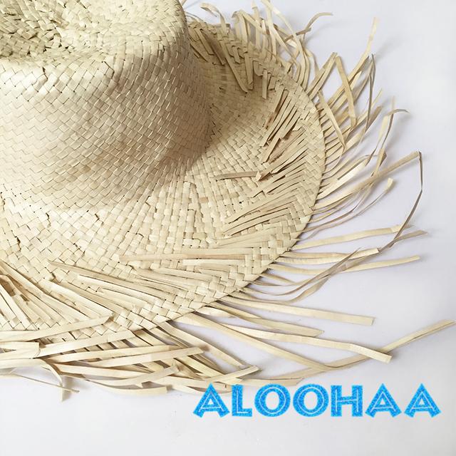 KId'sサイズ ラウハラハット タヒチアン・フラ衣装用帽子 アレンジ