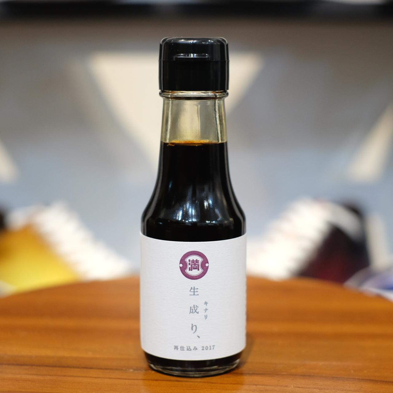 ミツル醤油醸造元 生成り、再仕込み(醤油) 100ml