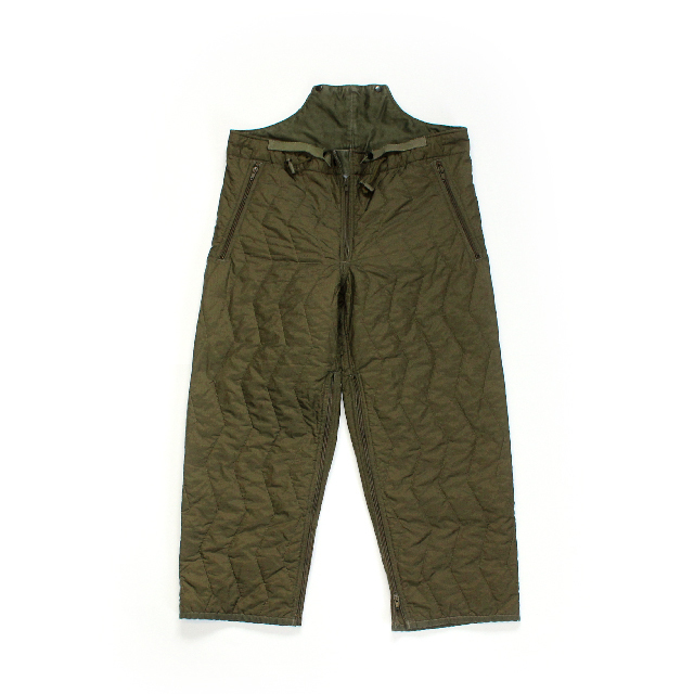 USED / German Military Quilting Over Pants / Size 1