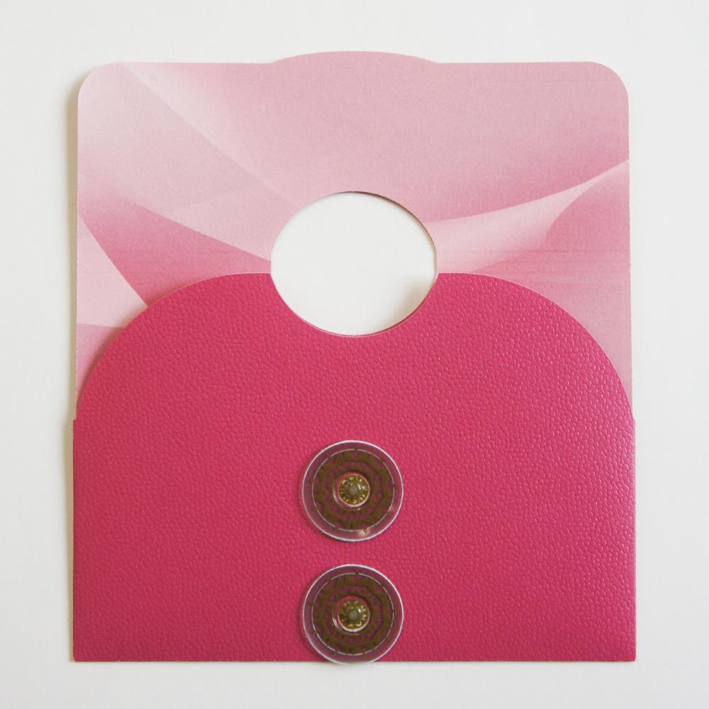 【ピンク×ピンク】マスクケース&マスクスタンド(小サイズ)MSND01C