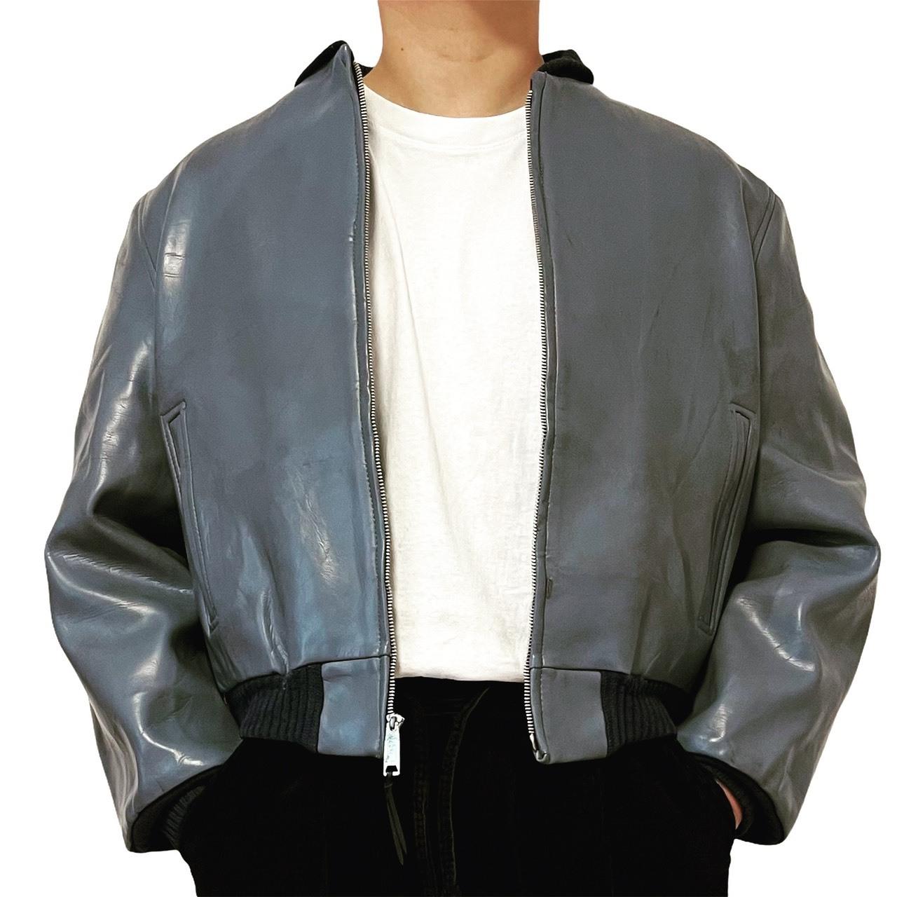 50's Fieldmaster Sears Boltaflex Vinyl leather jacket 42
