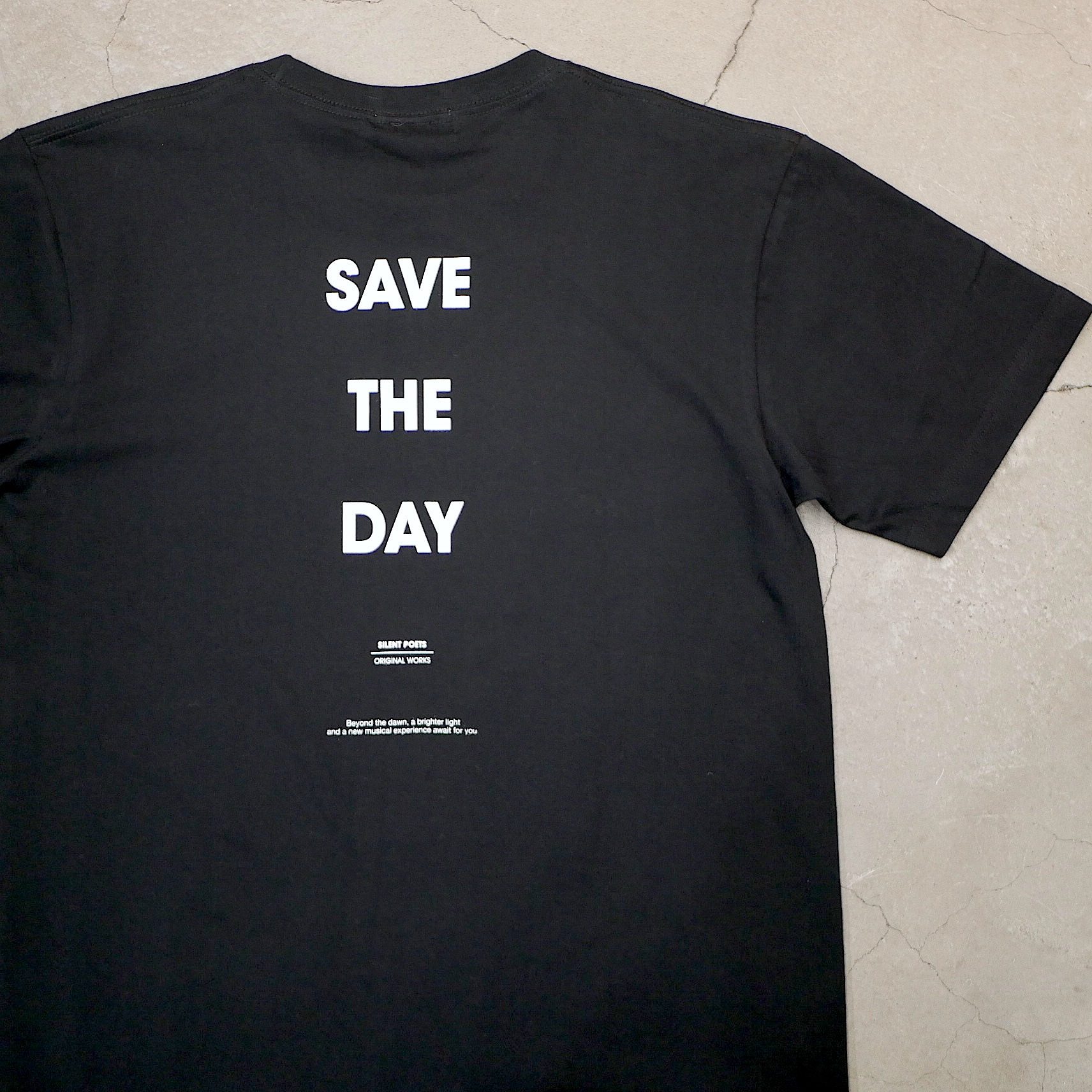 SILENT POETS / T-SHIRTS(SAVE THE DAY)