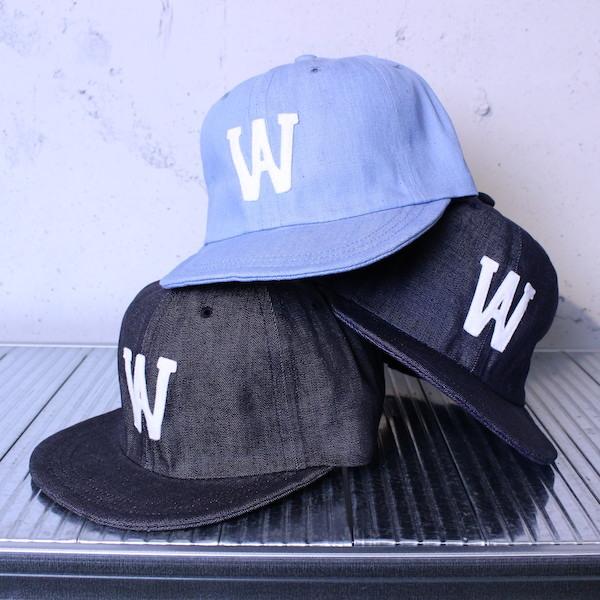 """【SALE 30% OFF】weac.(ウィーク) """"WEACAP(ウィーキャップ)"""" 2019SS シャンブレー"""