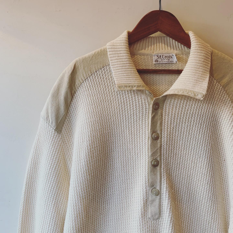 vintage oversized knit tops