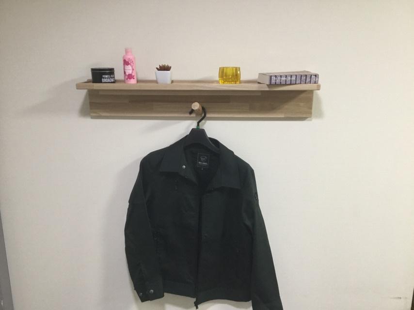 【木製ハンガーラック】  - 画像4