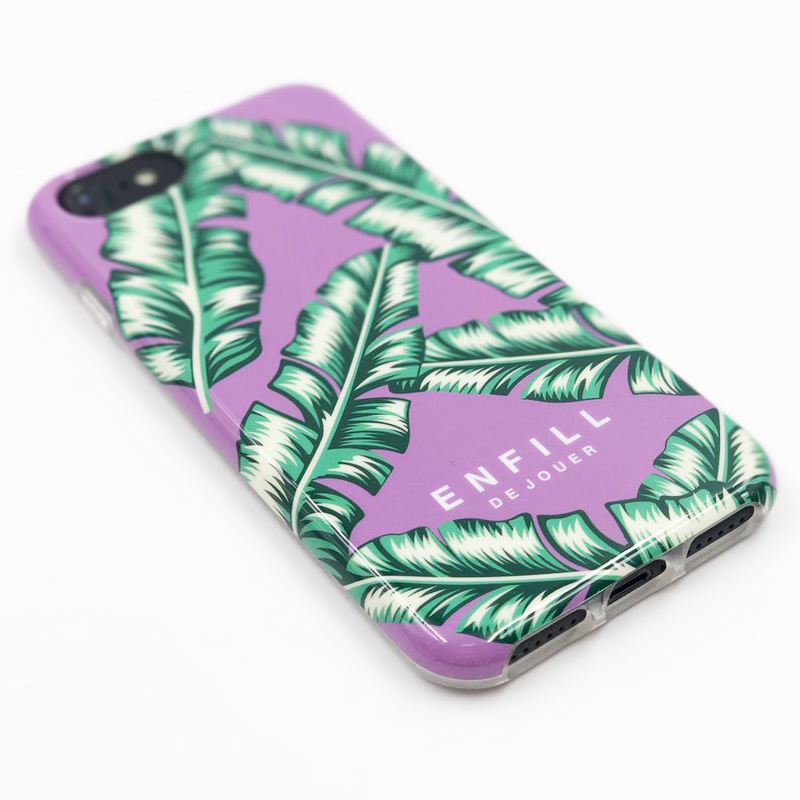 "TPU CASE ""TROPICAL GLAM"" for iPhone8/7/6s/6"