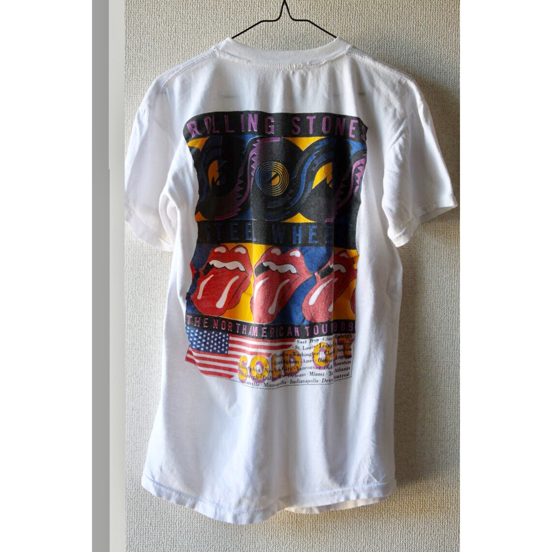 Vintage The Rolling Stones 1989 tour t shirt