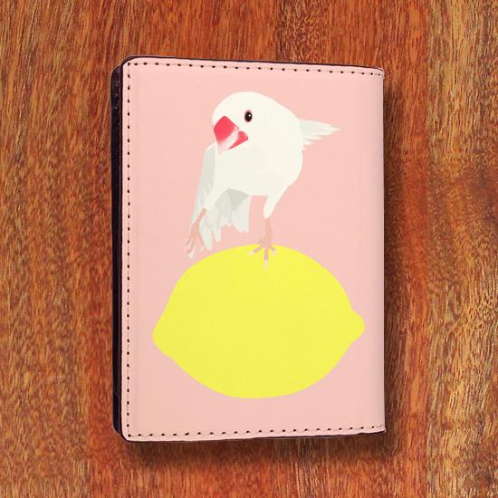 amycco.×ことりちゃん 文鳥ちゃん カードケース(桃色)