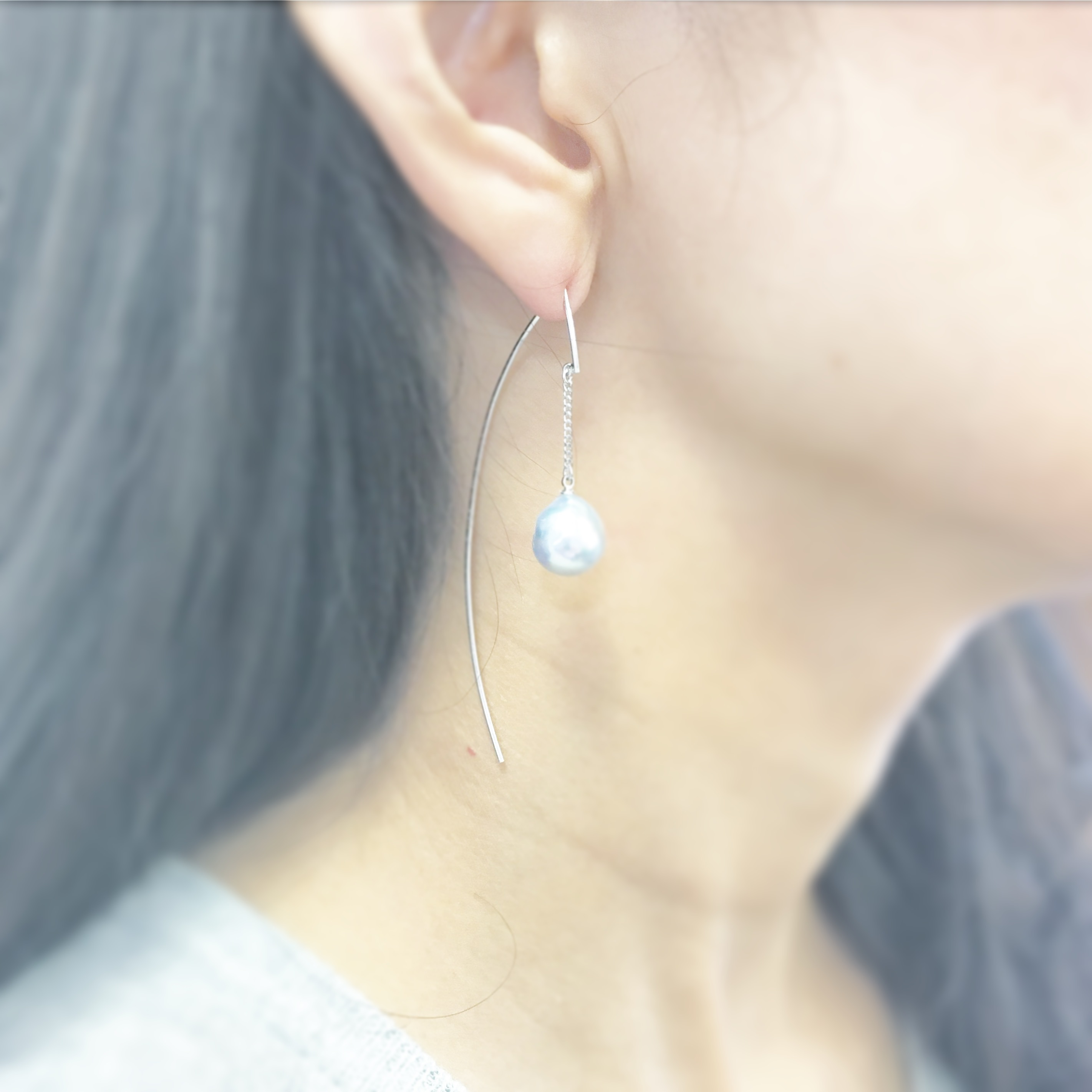 Arch&Chain Natural Pearl
