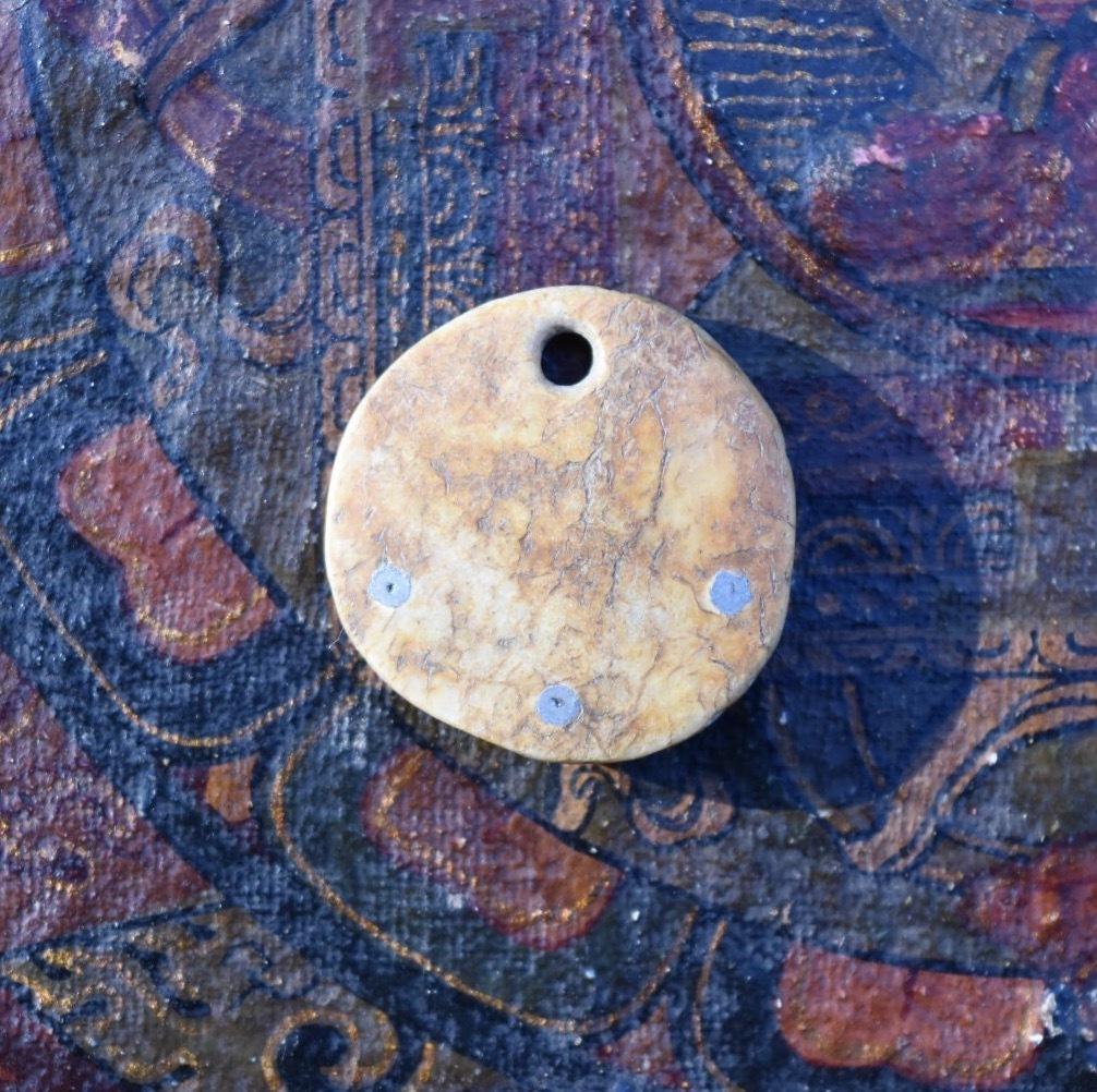 象嵌カパラ 数珠のオーメント