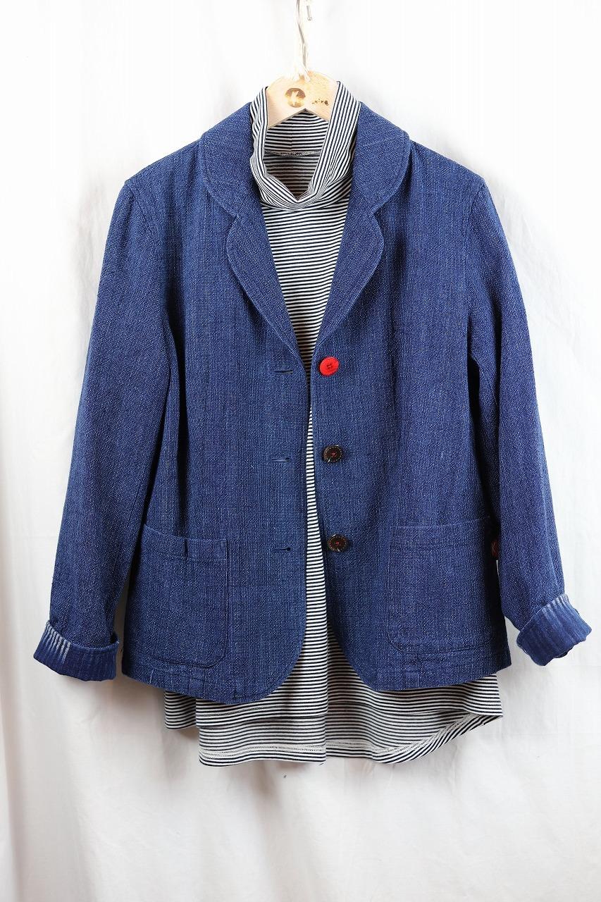 ジャケット JK 01 藍染濃紺ダンガリー(K9)