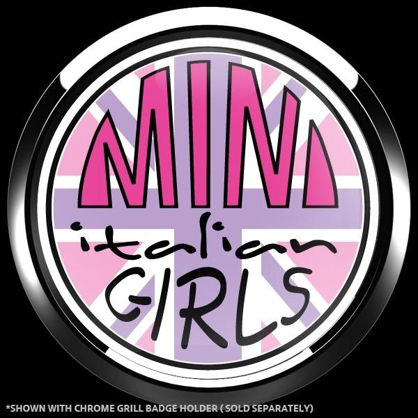 ゴーバッジ(ドーム)(CD1105 - CLUB MINI ITALIAN GIRLS) - 画像3