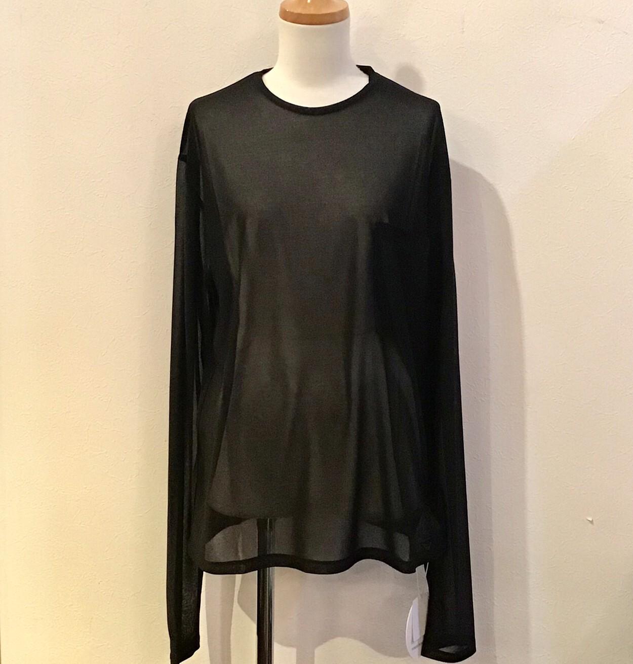 FUMIETANAKA F20A-35 print through long tshirts color black