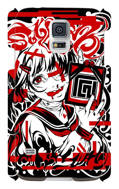(Galaxy S5 SC-04F/SCL23)Tシャツ図柄