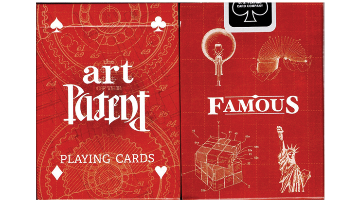 Limited Edition Art of the Patent (Famous) Playing Cards(訳あり)