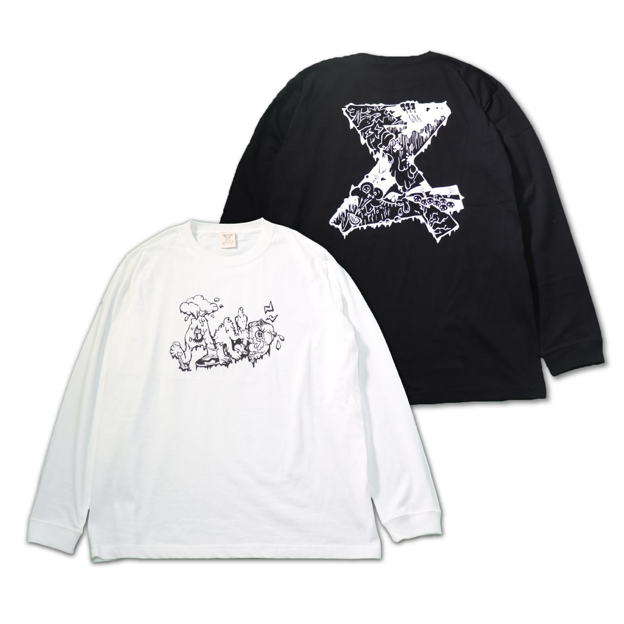 Muddy Monster Long Tshirts【mono ver.】