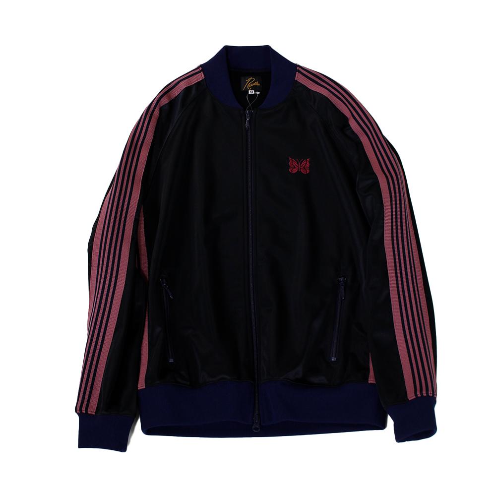 NEEDLES Track Jacket - Pe/ Ta Tricot Navy