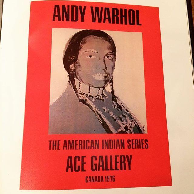 画集「The American Indian, Paintings and Drawings/Andy Warhol」 - 画像3